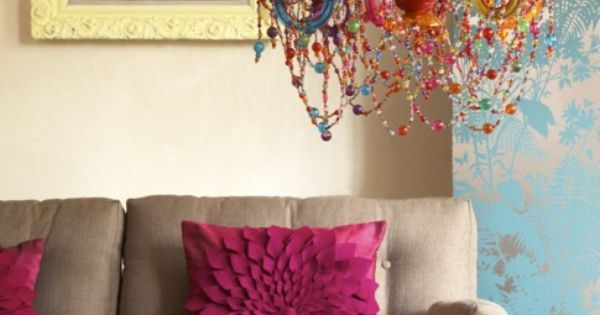 The chandelier the throw pillows that painting i love everything home decor pinterest Pinterest everything home decor