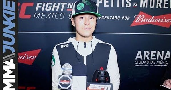 Mma Alexa Grasso Full Ufc Fight Night 114 Post Fight Interview Ufc Fight Night Ufc News Fight Night