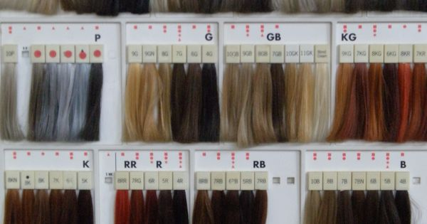Professional Hair Color Swatches Goldwell Color Swatches