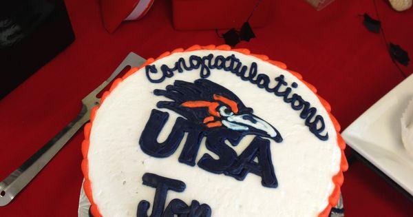 Utsa Cake Graduation Party Pinterest Graduation