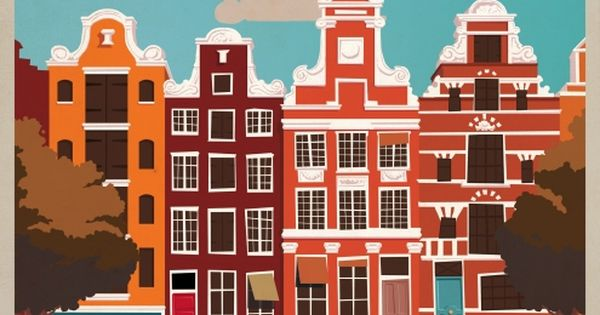 Amsterdam Vintage | Jeremy Lord - Illustration and Design - Sydney Australia