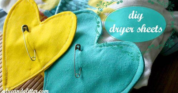diy dryer sheets dryer and safety pins. Black Bedroom Furniture Sets. Home Design Ideas
