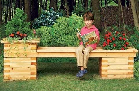 Build A Bench Planter Combo For Your Yard Http Www
