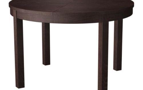 Bjursta utdragbart bord brunsvart inredning for Wohnzimmertische bei poco