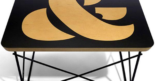 Ampersand Table Herman Miller Type Pinterest