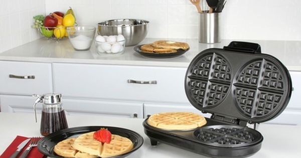 Kalorik Single Or Double Belgian Waffle Maker Belgian Waffle Maker Belgian Waffles Waffles