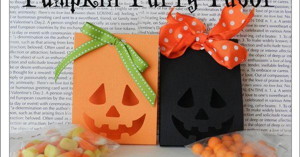 Its Written on the Wall: (Part 1) Halloween Pumpkin Party Favor ...