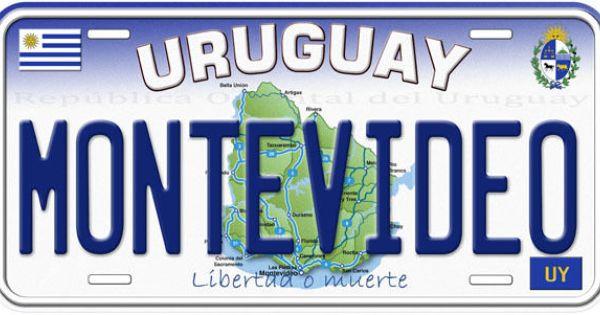 Uruguay Aluminum Auto Tag Novelty License Plate B01 License Plate Novelty License Plates Car License Plate