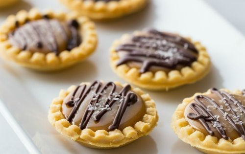 Mini Salted Caramel Chocolate Pies | My Baking Addiction