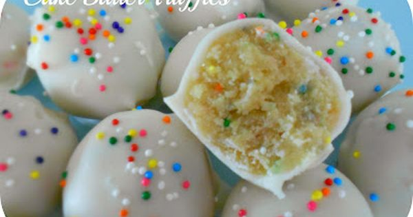 Easy Cake Batter Truffles | Six Sisters' Stuff