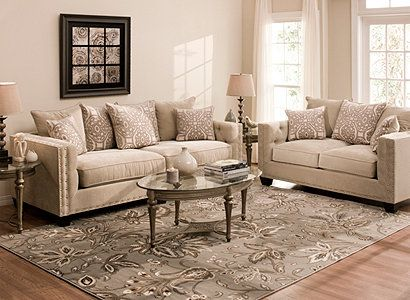 Cindy Crawford Home Calista Contemporary Living Room Collection
