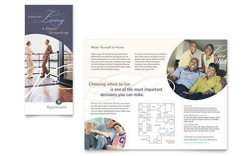 Apartment Condominium Brochure Template Design Brochure Design Template Brochure Template Free Brochure Template