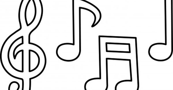 Printable Music Note Coloring Pages To Print With Music Notes Coloring Pages 2017 Note Music Notes Drawing Music Notes Art Music Coloring