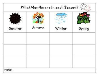 42+ Seasons worksheet pdf For Free