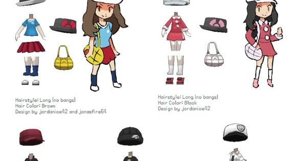 the gallery for gt pokemon x and y character customisation