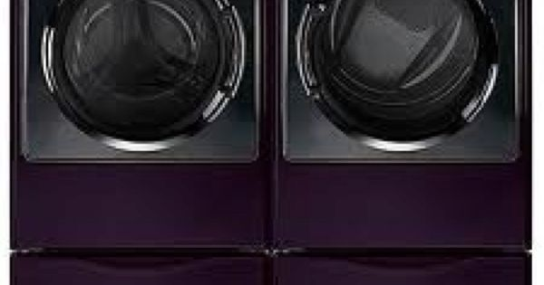 Purple Washer And Dryer All That S Purple Pinterest