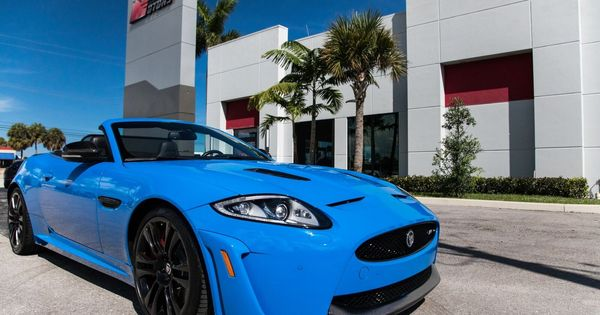 Used 2014 Jaguar Xk Xkr S 2014 Jaguar Xkr S Ultra Rare French Racing Blue Low Miles Well Maintained 2020 In 2020 Jaguar Xk Jaguar Racing