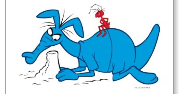 La Hormiga Y El Oso Hormiguero Dibujos Animados Clasicos