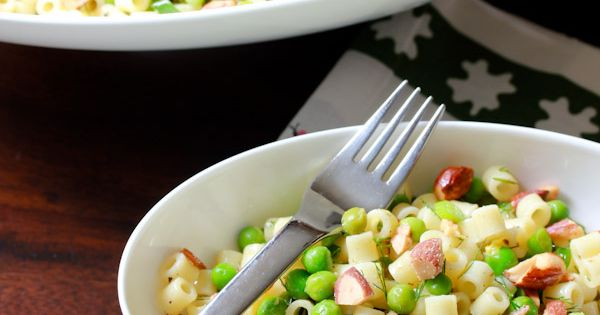 Pasta, Almonds and Pasta salad on Pinterest