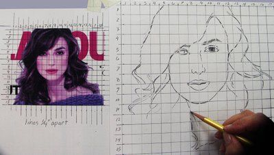 Zeichnen Lernen Mit Raster Buch 1 Einfaches
