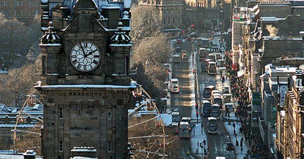 Princes Street - Edinburgh, Scotland My favorite place in the world!