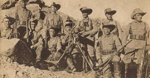 Schutztruppe Germans In Namibie German History World War One War Photography