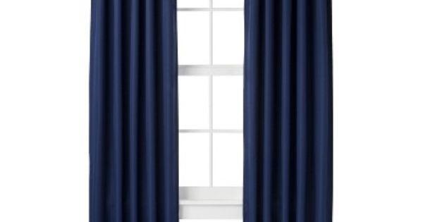 Room Essentials Light Blocking Window Panel Navy