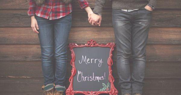 DIY~Adorable holiday photo ideas