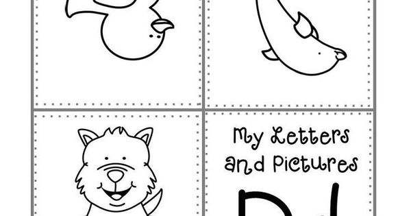 FREEBIE K 1 And Homeschool Alphabet Mini Book A Z Color Print Ready2Go