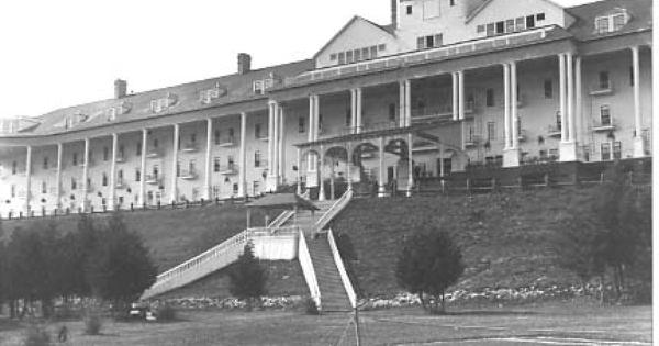 Grand Hotel Mackinac Island C 1920 S
