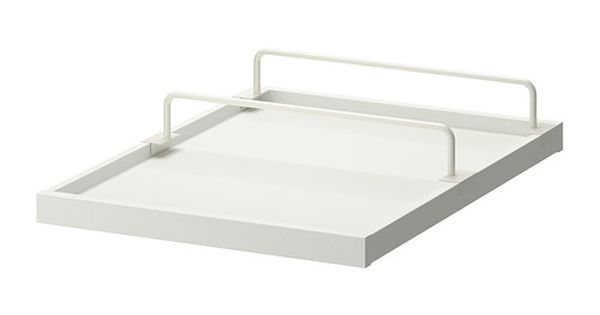 Ikea komplement pull out tray with shoe rail white white 50x58 cm 10 - Dressing ikea komplement ...