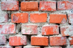 Repairing A Crumbling Brick Foundation Stretcher Com Brick Repair Brick Restoration Foundation Repair