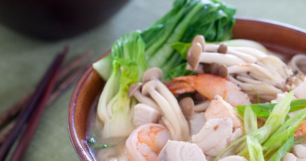 Seafood Miso Noodle Soup | Recipe | Beautiful, Kitchens ...