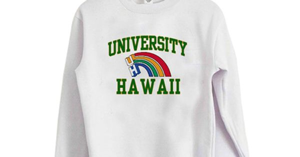 University Of Hawaii Sweatshirt Fr05 University Of Hawaii Sweatshirts Manoa