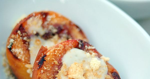 ... Sweetened Sour Cream | Indulge | Pinterest | Grilled Peaches, Sour
