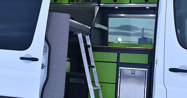 alaska camper van conversions gallery motorhomes pinterest ausbau wohnmobil und camping. Black Bedroom Furniture Sets. Home Design Ideas