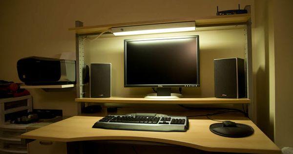 Split Level Jerker Desk Ikea Hackers Split Level Ikea Hackers Ikea Desk