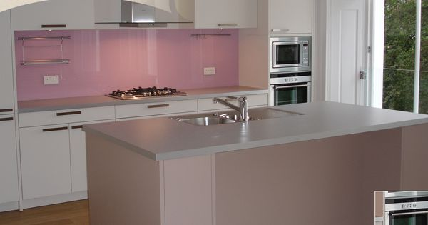Gorgeous Pink Splashback Really Brings Out The Best In