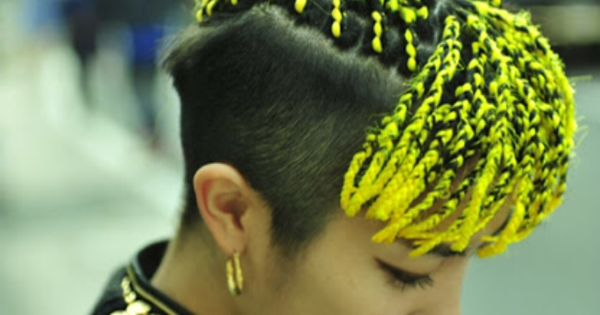 Yellow Box Braids Twists Braids Locs ️ Pinterest