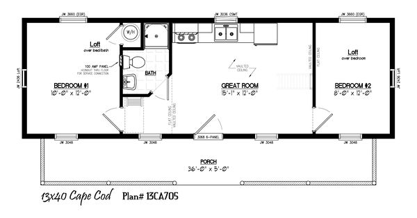 16x40 cabin floor plans 16 39 x40 39 cabin floor plans for 16 x 16 cabin floor plans