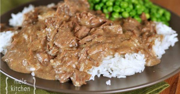 Ultimate Beef Stroganoff Slow Cooker Mel S Kitchen Cafe Recipe Slow Cooker Beef Stroganoff Stroganoff Slow Cooker Recipes