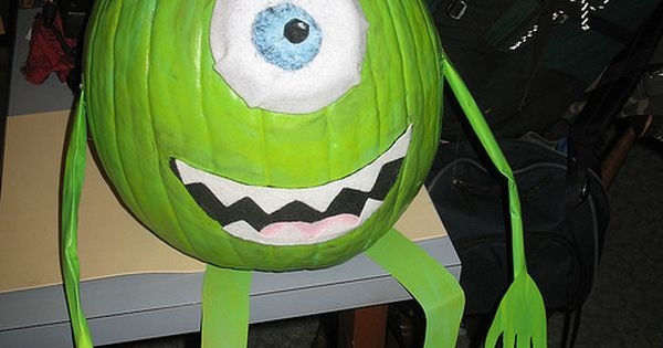 Creative Pumpkin Decorating Ideas | ok one more character pumpkin cause i
