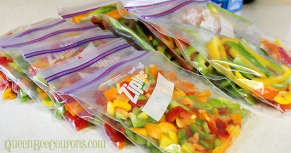 How To Freeze Peppers Yes You Can Stuffed Peppers Freezer Crockpot Meals Freezing Peppers