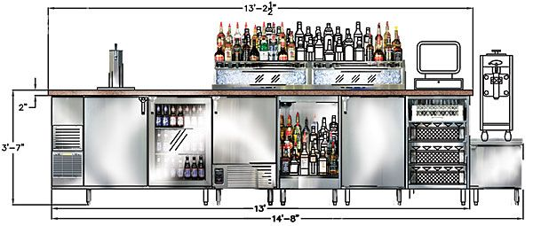 Design And Layout Bar Restaurant Commercial