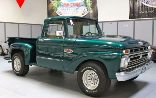 Find Used 1966 Ford F100 Twin I Beam Side Step Restored 360 Engine In Gardena California United States Trucks Ford Trucks Ford Pickup Trucks