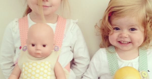 doll carrier tutorial-need to make this so baby girl can make mommy