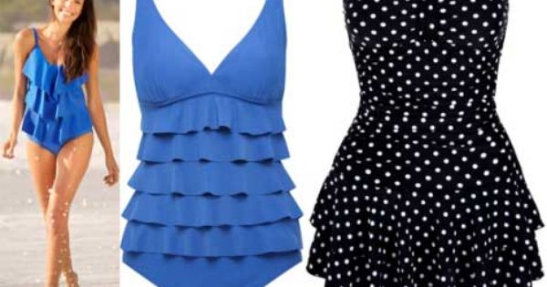 Dresses For Women Over 50 With A Stomach Swimsuit Shapes