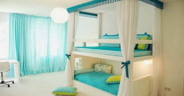 Girls room ideas. Bunk beds. Modern kids room. bedroom ideas home house
