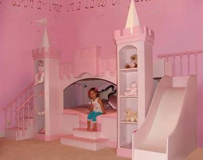 Pink Princess Girls Bedroom Ideas with Castle Bedroom Set Decorating the Princess