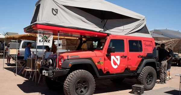 Jeep Wrangler With Awesome Rooftop Tent Now This Is